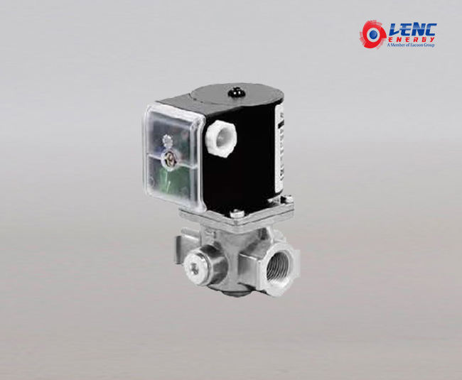 LVC-FS series solenoid valveLCV-F-S(with external signal window)